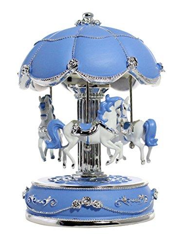 Light Blue Music Box - 9