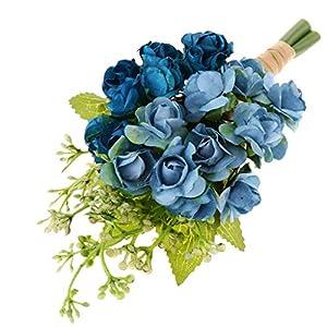 Fityle Paper Flower Corsage Boutonniere for Bride Groom Wedding Men Suit Decoration 26