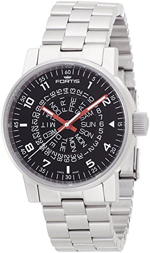 FORTIS watch space Matic Black Red 623.10.51M Men's [regular imported goods]
