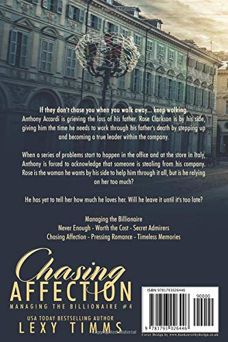 Chasing Affection: Billionaire Steamy Workplace Romance: Lexy Timms