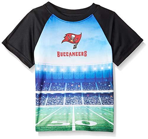 (NFL Tampa Bay Buccaneers Unisex Short-Sleeve Tee, Black, 3T)