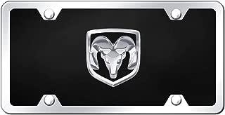 product image for Dodge Ram OEM Logo Chrome on Black Acrylic Kit