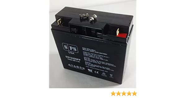 Amazon.com: Replacement Battery Black & Decker VEC026BD Electromate 400 12V 22AH Battery -(SPS Brand): Home Audio & Theater