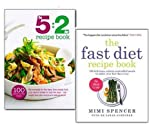 The Fast Diet and The 5:2 Diet Recipe Cookbook Collection Set, (The 5:2 Diet Recipe Book and The Fast Diet Recipe Book: 150 Delicious, Calorie-controlled Meals to Make Your Fasting Days Easy)