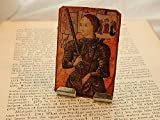 Joan of Arc Portable Altar Meditation Altar Prayer Devotion Desk Accessory