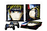 Ps4 Skins Naruto Sage Decals Vinyl Sticker Cover for Playstation 4 Console and Two Controller Review