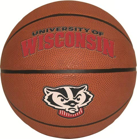 - 7 inch UW Basketball Decal UW University of Wisconsin Badgers Logo WI Removable Wall Sticker Art NCAA Home Room Decor 7 by 7 inches