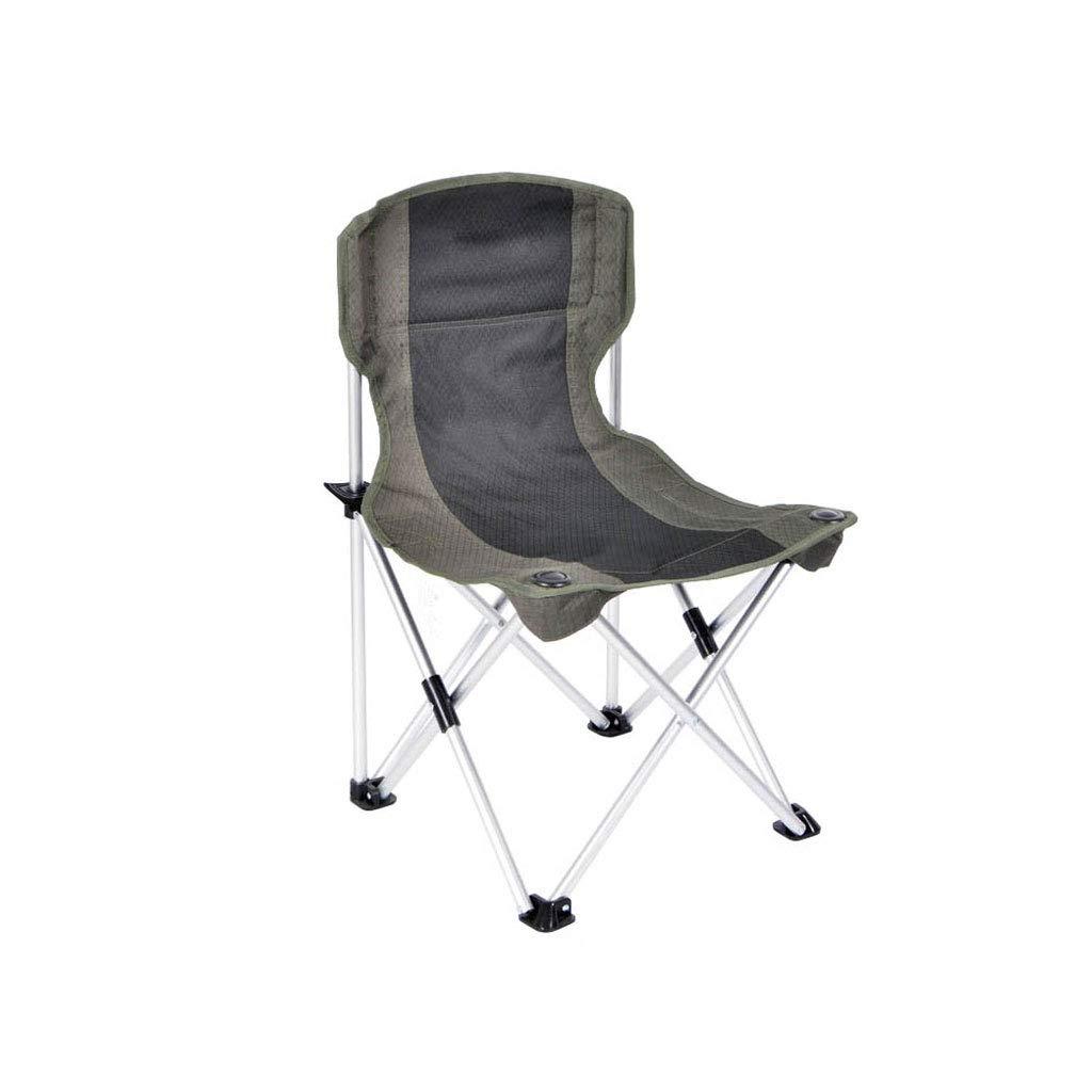 Kaiyu Outdoor Aluminium Klappstuhl Portable Strand Stuhl Lichtstuhl Skizze Stuhl Angeln Stuhl 43x43x68cm