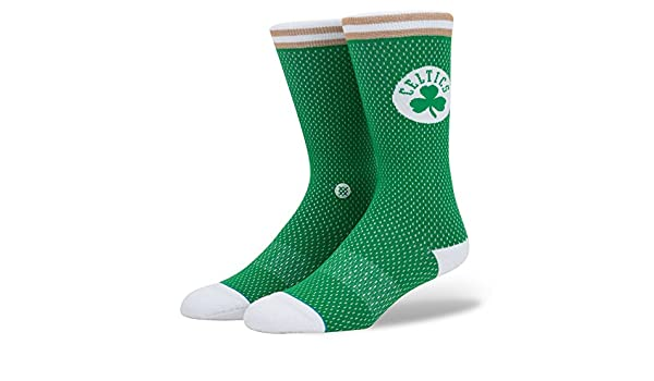 Calcetines Stance - Nba Boston Celtics Everyday Light Cushion Jersey verde/blanco/marrón talla: 43 al 46 EU I 9-11.5 USA I 8.5-11 UK: Amazon.es: Deportes y ...
