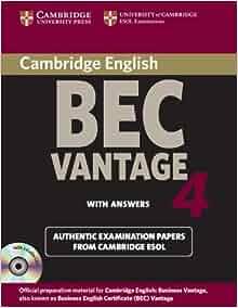 Free download BEC Vantage Masterclass Workbook with Key