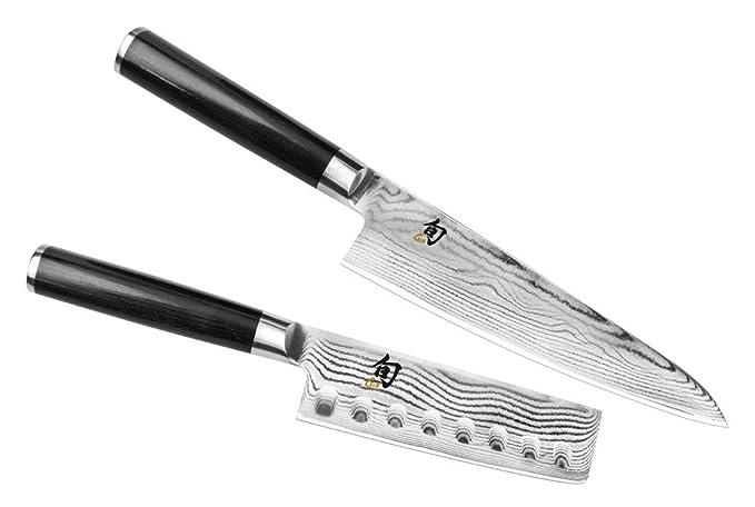 Amazon.com: Shun Classic – Juego de cuchillo de chef de Asia ...