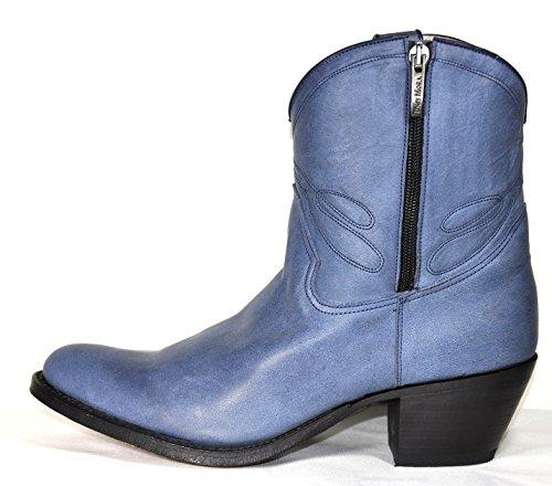Tony Mora Cowboy Boots Damen Stiefeletten Terra Nova Jeans Blue