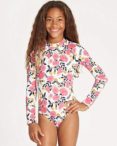 Billabong Girls' Girls' Sun Dream Bodysuit Rashguard Multi 4 by Billabong