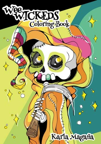 Wee Wickeds Coloring Book