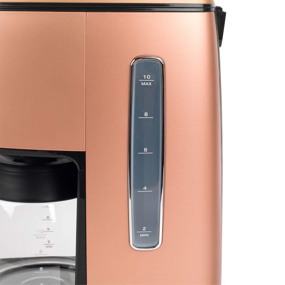 Matte Metallic Copper 1.25 L Stainless Steel 1.25 milliliters DeLonghi ICMI 211.CP DeLonghi KBICIMI211CP Distinta Filter Coffee Machine 1000 W