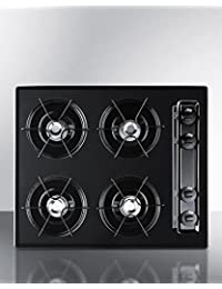 Summit TNL03P Kitchen Cooktop, Black