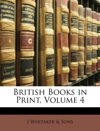Download British Books in Print, Volume 4 pdf epub