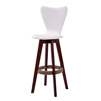 Amazon.com  WYNZYJBD Solid Wood Bar Chair d118f7003