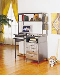 powell furniture monster bedroom desk hutch with mailbox