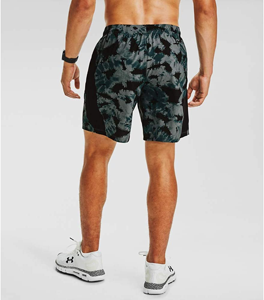 Under Armour Mens Launch Stretch Woven 7-inch Printed Shorts