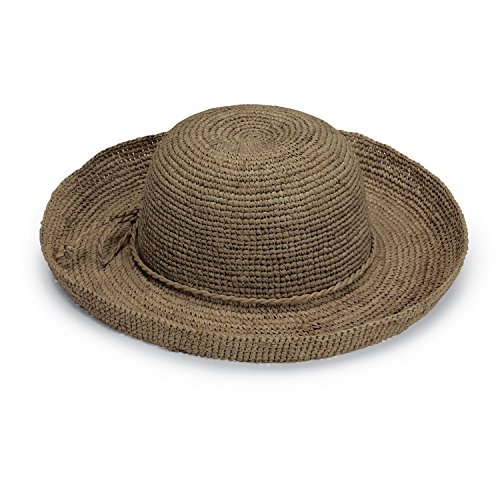 Wallaroo Hat Company Women's Catalina Sun Hat - Handwoven Twisted Raffia Sun Hat, -