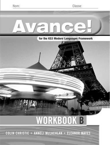 Avance: Basic Workbook v. 1: Framework French (Avance Language ...
