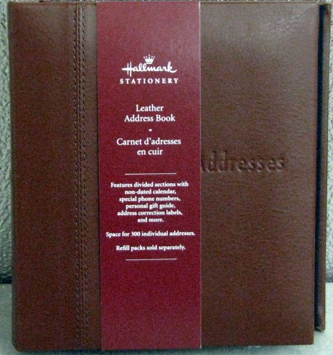buy special office products hallmark address books add4203 brown