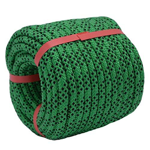 "YUZENET Braided Polyester Arborist Rigging Rope (3/8"" X 100"