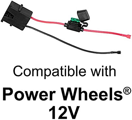 [DVZP_7254]   Amazon.com: SafeAMP Wire Harness Connector for Fisher-Price Power Wheels 12- Volt SLA Battery: Toys & Games | 12 Volt Battery Wire Harness |  | Amazon.com