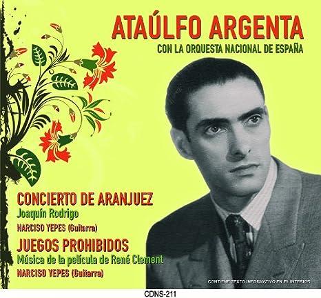 Concierto de Aranjuez. Rodrigo Yepes guitarra, Argenta Orquesta ...