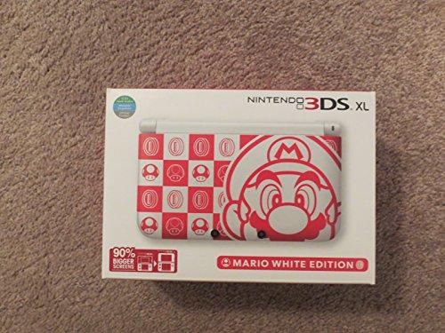 Nintendo 3DS XL Mario White