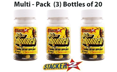 STACKER 2 YELLOW HORNET (3) 20CT. BOTTLES by Stacker