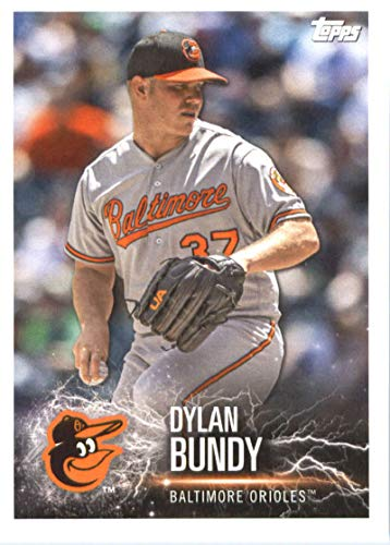 2019 Topps MLB Stickers Baseball #16 Dylan Bundy/Jose Ramirez Baltimore Orioles/Cleveland Indians Trading Card Sized Album Sticker with Collectible Card Back