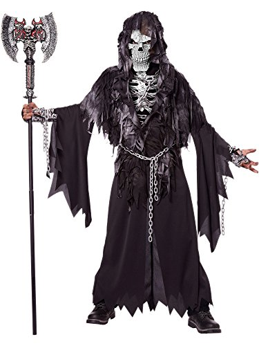 Horror Costumes - California Costumes Evil Unchained Costume, One Color, 10-12