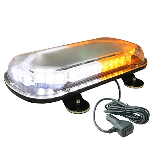 LAMPHUS SolarBlast 34W Snow Plow Emergency Vehicle Warning Strobe LED Mini Light Bars AVAILABLE – AMBER WHITE