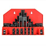 58 Pc Pro-Series 1/2'' T-Slot Clamping Kit Mill Machinist Set 3/8-16