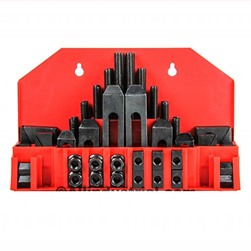 Great Deal! 58 Pc Pro-Series 1/2 T-Slot Clamping Kit Mill Machinist Set 3/8-16