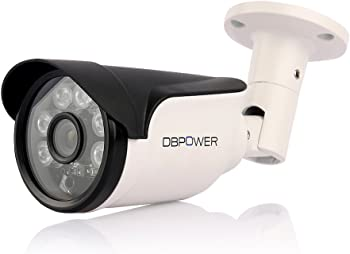 DBPOWER 1MP Bullet HD Wireless IP Camera