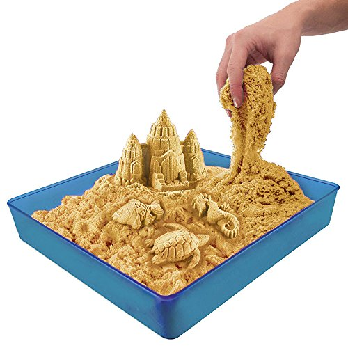 Sensory Sand Ultimate Set -- Over 3 Lbs of No Mess Magic Sand for Kids Toddlers by Sensory Sand Kit