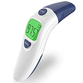 Infrared Ear Forehead Thermometer Digital LCD Display For Baby Adut Health Care