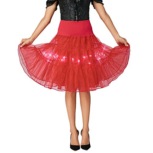 aa48dcfe8fc DressLily Retro Poodle Print High Waist Skater Vintage Rockabilly Swing Tee  Cocktail Dress … - Buy Online in UAE.