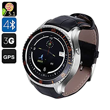 IQI I2 Android Smart Watch - 3 G, Android 5.1, GPS, Bluetooth 4.0 ...
