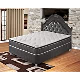 Spinal Solution Mattress,Pillow Top,Pocketed Coil, Orthopedic King Size Mattress, Acura Collection