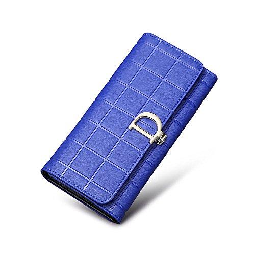 ein langer abschnitt 80 prozent von großer handy - karte schnalle tasche tasche,pink königsblau