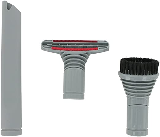 Dyson Europart - Juego de boquillas para aspiradora (32 mm, boquilla para escaleras, cepillo redondo y grietas): Amazon.es: Hogar