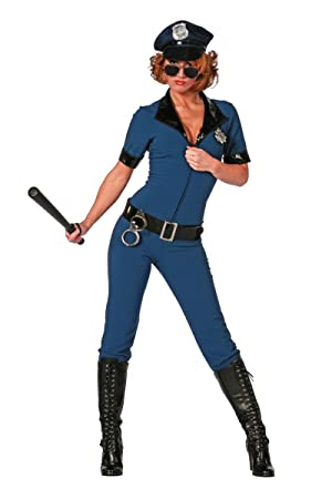 Stekarneval para Disfraz de Policía Catsuit, Tallas 34 - 46 ...