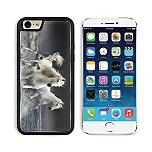 White Horse Fantasy Ocean Gallop Night Animal Apple iPhone 6 TPU Snap Cover Premium Aluminium Design Back Plate Case Customized Made to Order Support Ready Luxlady iPhone_6 Professional Case Touch Accessories Graphic Covers Designed Model Sleeve HD Template Wallpaper Photo Jacket Wifi Luxury Protector Wireless Cellphone Cell Phone
