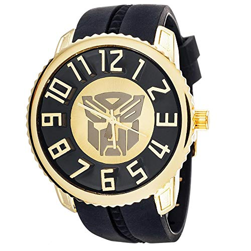 Xtreme Time Transformers Collector Edition Watch Autobots Gold with Black