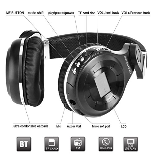 goodlogo headphones bluetooth headphones wireless headset t2s foldable without cable earphone. Black Bedroom Furniture Sets. Home Design Ideas