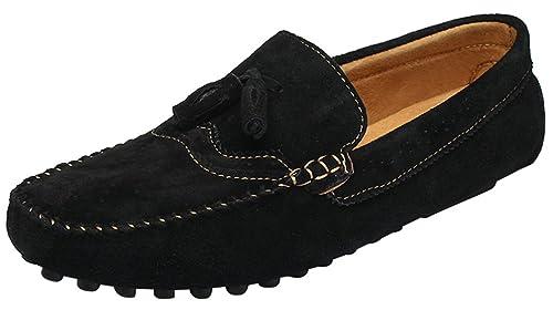 CFP - Botas mocasines hombre , color negro, talla 39.5 EU